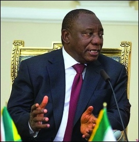 Cyril Ramaphosa, photo Erfan Kouchari/CC