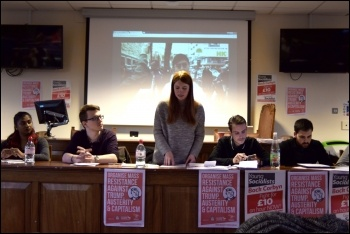 Socialist Students conference 2018, photo Mary Finch