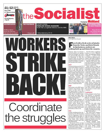 The Socialist issue 984