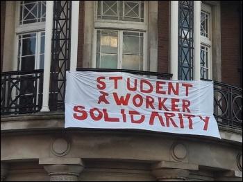 Liverpool UCU strike, photo Roger Bannister, photo Roger Bannister
