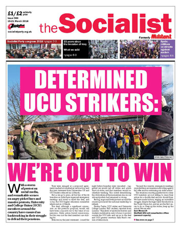 The Socialist issue 986