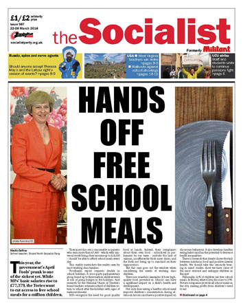 The Socialist issue 987