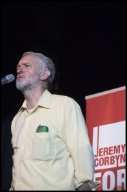 Jeremy Corbyn, photo Paul Mattsson