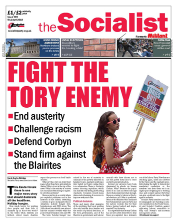 The Socialist issue 989