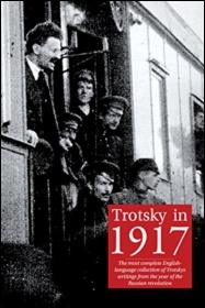 Trotsky in 1917, published by Socialist Books