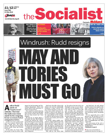 The Socialist issue 993