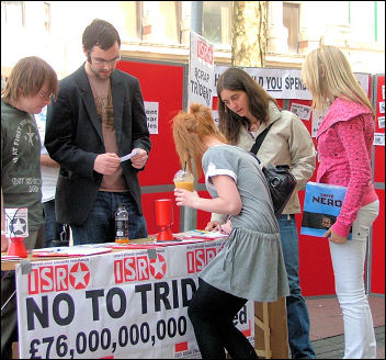 Wales International Socialist Resistance campaigning