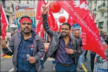 TUC march, 12.5.18, photo by Paul Mattsson