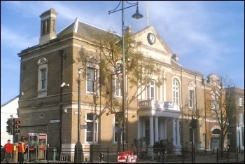 Southall Town Hall, photo by DMS/CC