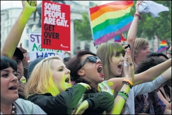 Fighting for LGBT+ liberation means fighting for socialism, photo Paul Mattsson