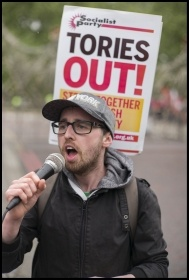 On the May 2018 TUC demo, photo Paul Mattsson