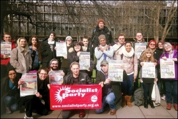 Socialist Party organisers can play a key role in working class struggle, photo by Corinthia Ward