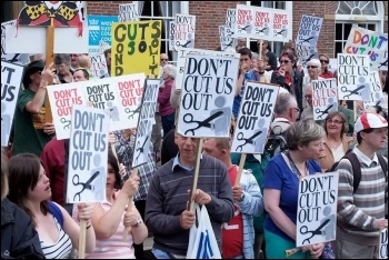 Save the Wrenford Centre, photo by Don't Cut Us Out West Sussex Campaign