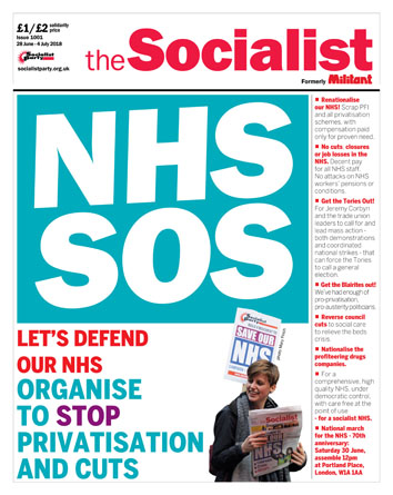 The Socialist issue 1001