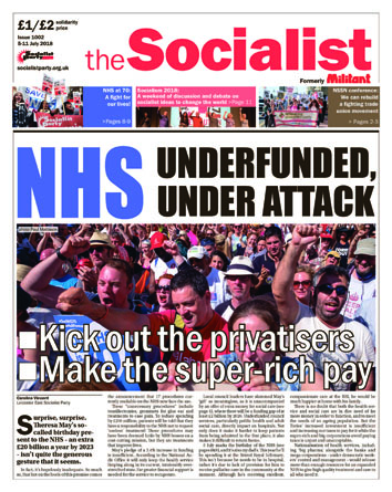 The Socialist issue 1002