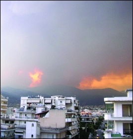 The recent devastating fires in Greece exposed the weakened state of fire and civil defence after a decade of austerity, photo rudy_ath/CC