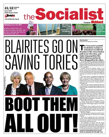 The Socialist issue 1006