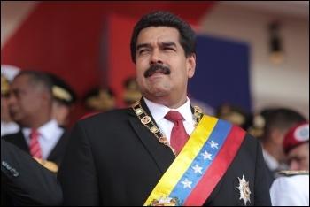 Venezuelan president Nicolas Maduro, photo by Hugoshi/CC