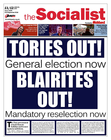 The Socialist issue 1008