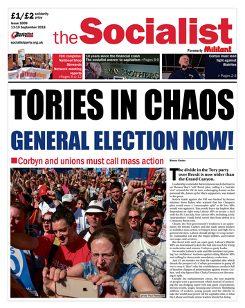 The Socialist issue 1009