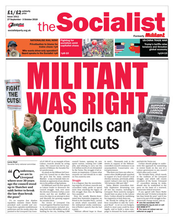 The Socialist issue 1011