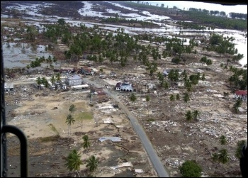 Devastation in Indonesia, photo USAID/CC