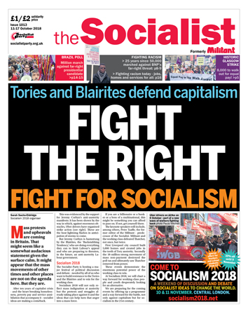 The Socialist issue 1013: Fight the right