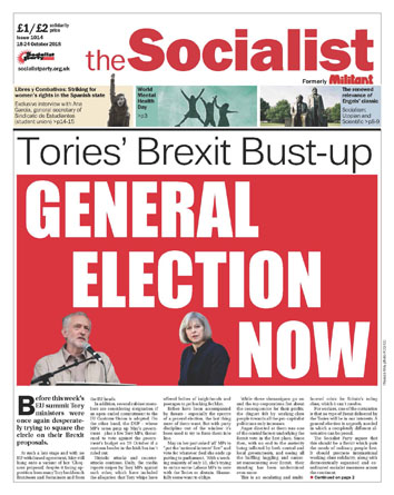 The Socialist issue 1014