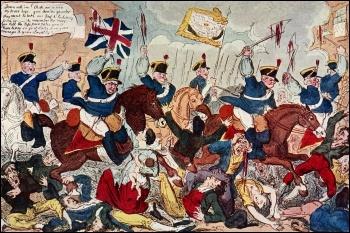 Peterloo Massacre 1819