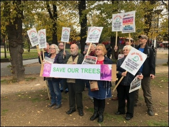 Save Our Square campaigners