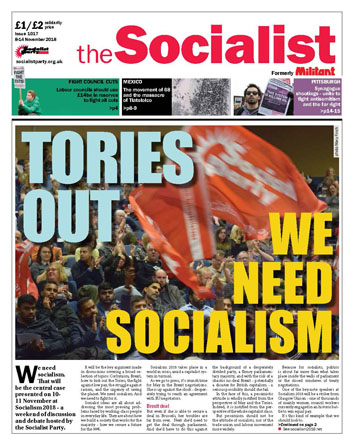 The Socialist issue 1017