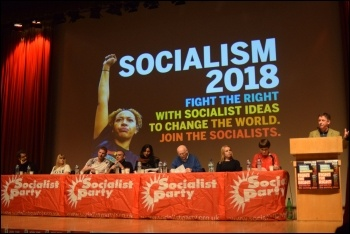 Socialism 2018, photso Mary Finch