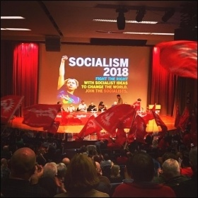 Socialism 2018 Saturday rally, photo Ben Robinson