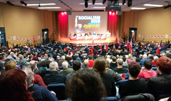 Socialism 2018 Saturday rally, photo by Paul H