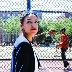Self-described socialist Alexandria Ocasio Cortez won a seat in the House of Representatives, photo Corey Torpie/CC