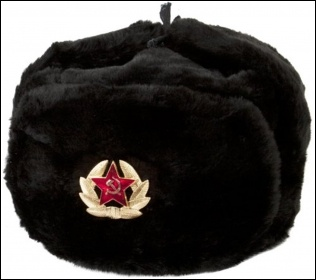 Imitation Soviet ushankas are a fashion no-no whatever your politics