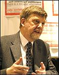 Dave Nellist at Socialist Party congress