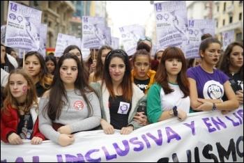 Spanish state Libres y Combativas strike Nov 2018 , photo Libres y Combativas