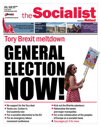The Socialist issue 1019
