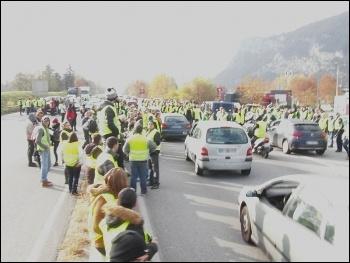 Gilets jaunes protest, photo Jean-Paul Corlin/CC, photo Jean-Paul Corlin/CC