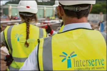 Interserve shares have collapsed