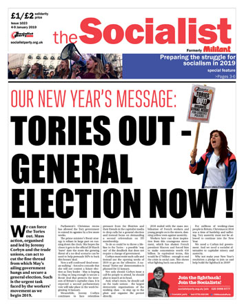 The Socialist issue 1023