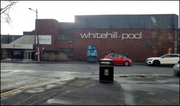 Whitehall pool, Dennistoun