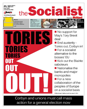 The Socialist issue 1025