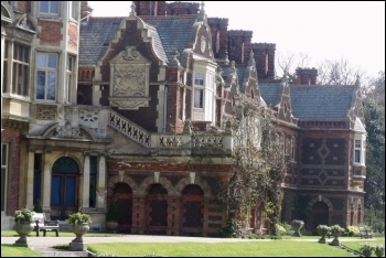 Part of Sandringham House, one of the royal family's many enormous homes, photo by Elliott Brown/CC