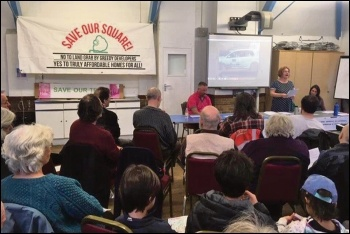 Waltham Forest Save Our Square campaign meeting, 26.1.19, photo by Sarah Wrack