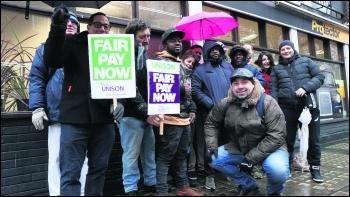 Camden traffic wardens strike 4 February 2019