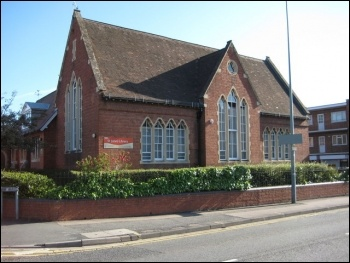 The threatened St John's Library, Worcester, photo Philip Halling/St John's Library/CC