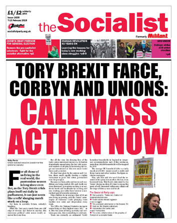 The Socialist issue 1028