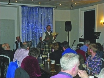 Alternative Burns Night, Carlisle, photo by Robert Charlesworth